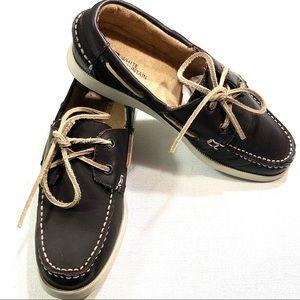 White Mountain Women's Boat Shoes 200-W13261-1 8M